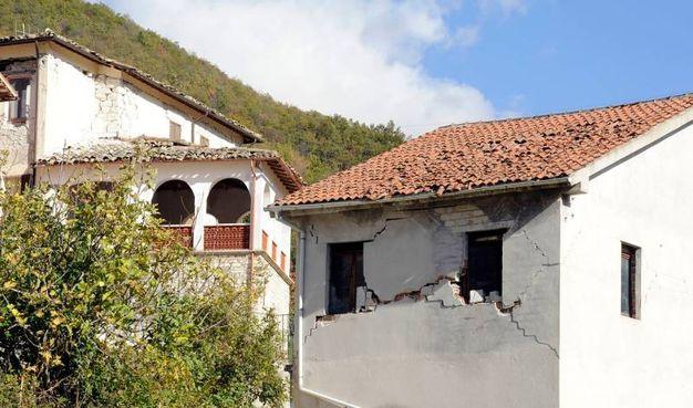 Crepe nelle case a Ussita (foto Calavita)