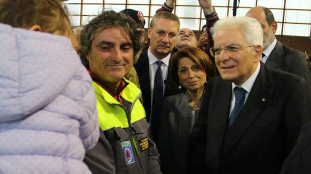 Il Presidente della Repubblica Sergio Mattarella (foto Conforti)