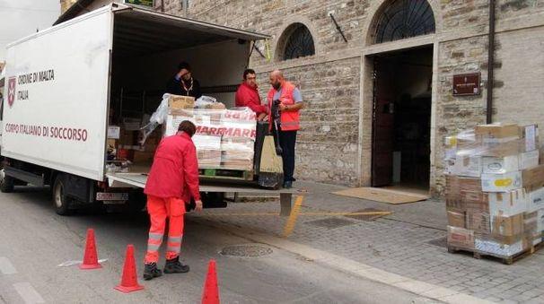 Aiuti a San Severino