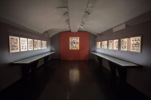 A Palazzo Pepoli sono esposte oltre 400 opere dell'autore (foto Schicchi)