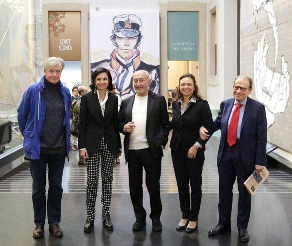 Da sinistra: Thierry Thomas, Patrizia Zanotti, Fabio Roversi-Monaco, Giulia Fortunato, Leone Sibani
