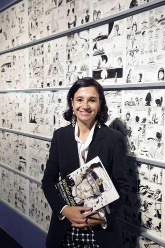 Patrizia Zanotti, curatrice della mostra su Hugo Pratt,  in collaborazione con Cong-Hugo Pratt art properties