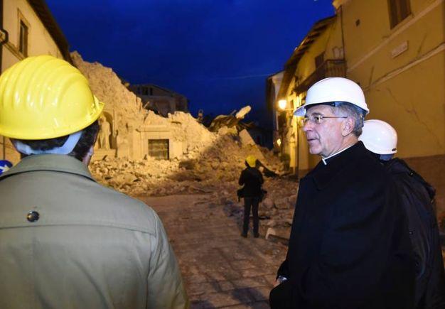 Il vescovo a Castelluccio