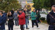 Una trentina di persone ha accolto il direttore del Coro (foto Artioli)