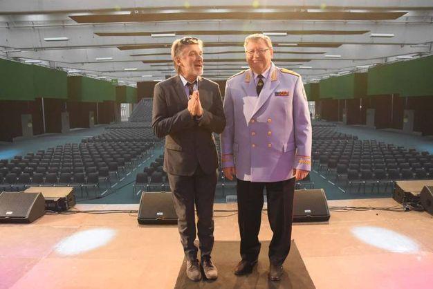 Viktor Eliseev è a Reggio Emilia per il concerto nel nuovo Lime Theater alle Fiere (foto Artioli)