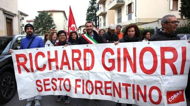 I lavoratori della Richard Ginori in corteo (Germogli)