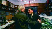 Hibiki Yoshiharu, ristoratore di Kawagoe, con il preside dell'Istituto alberghiero saffi Valerio Vagnoli