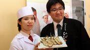 La delegazione giapponese incontra gli studenti al Saffi (Foto Umberto Visintini/NewPressPhoto)