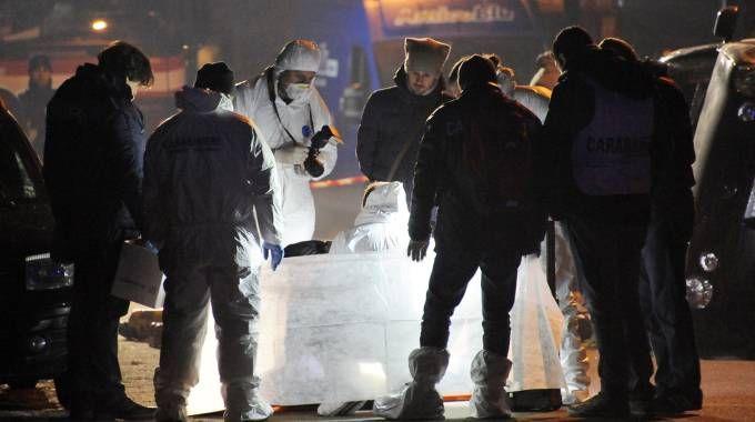 10 - Canegrate, sparatoria da Far West: due morti