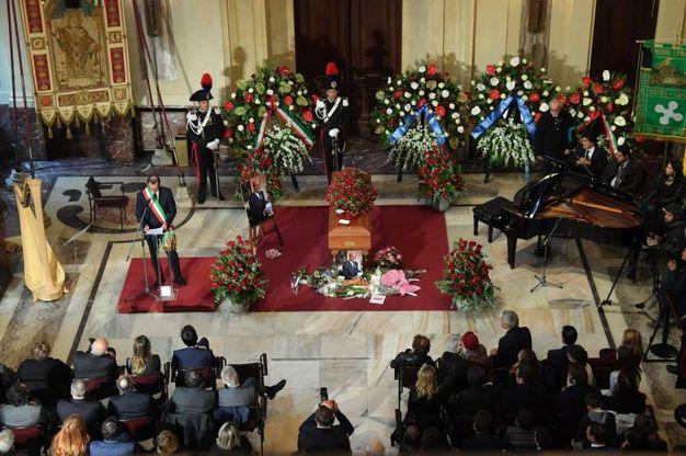 L'intervento del sindaco Sala (La Presse)
