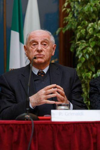Piercarlo Grimaldi, rettore dell'Università di Scienze Gastronomiche di Pollenzo (Schicchi)