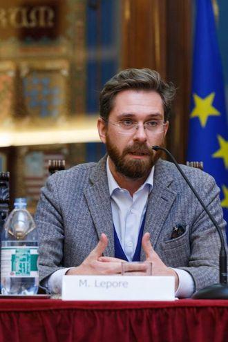 L'assessore Matteo Lepore (Schicchi)