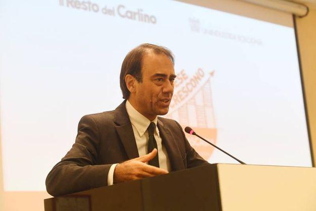Il direttore di QN-il Resto del Carlino, Andrea Cangini (Schicchi)