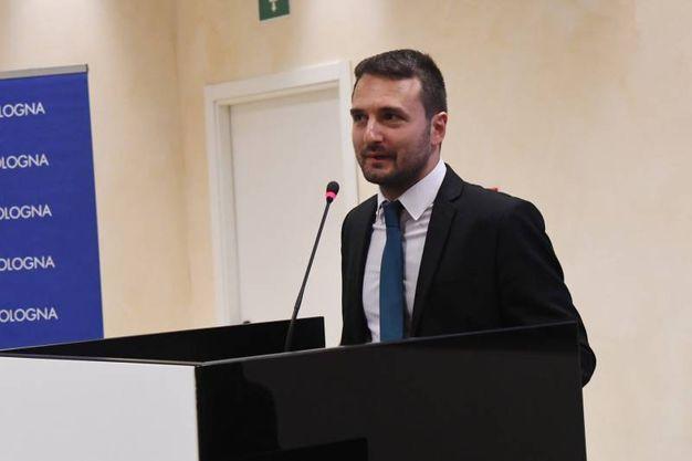 Simone Arminio, giornalista del Carlino autore di tutti i servizi sul Premio Mascagni (Schicchi)