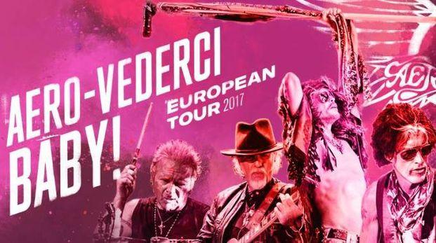 Il promo del tour degli Aerosmith