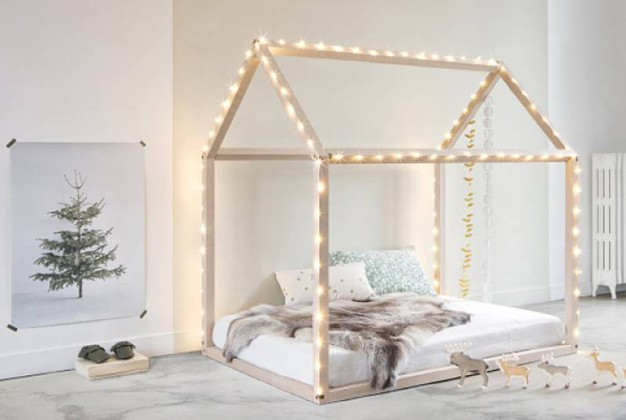 Ispirazione nordica per la cameretta dei bambini - Ikea letto montessori ...