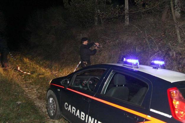 Gli investigatori a Morignano (Foto Labolognese)