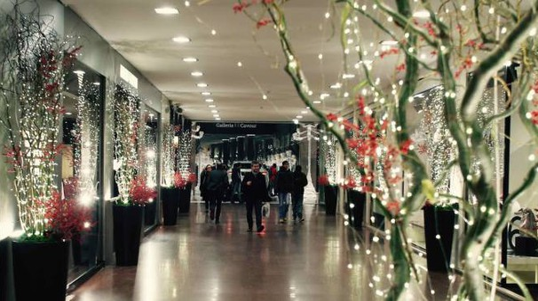 L'interno della Galleria