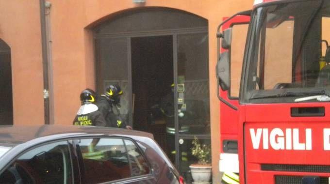 Il ristorante Tiravino devastato dal fuoco