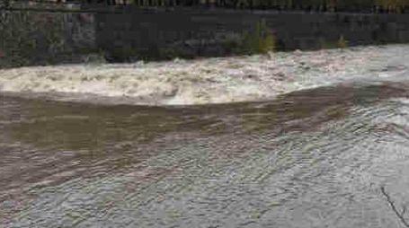 Il fiume Bisenzio (immagine di archivio)