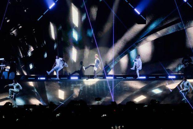 Mark My Words era la prima canzone prevista nella scaletta del concerto di Justin Bieber a Bologna (Foto Schicchi)