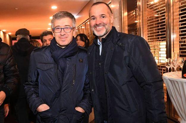 Festa in Galleria Cavour: Claudio Fenucci e Joey Saputo (Foto Schicchi)