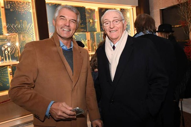 Da sinistra, Claudio Marenco e Filippo Sassoli de'Bianchi