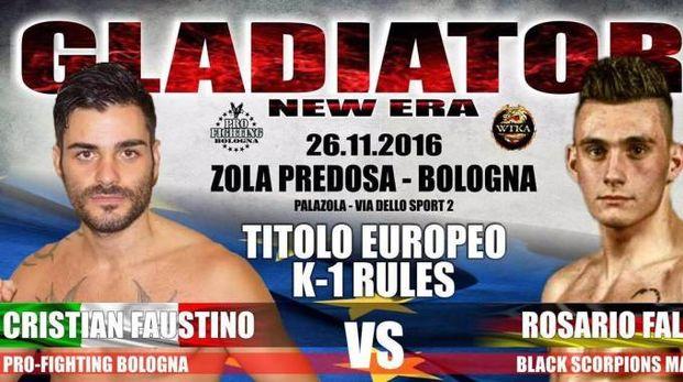 Cristian Faustino salirà sul ring del PalaZola per il titolo europeo