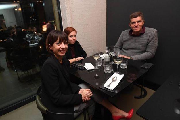 La famiglia Perdisa: Alessandro, Paola, e la figlia Martina