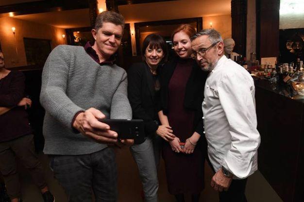 Ancora selfie con lo chef
