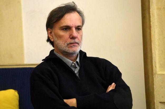 Uno dei curatori della mostra Dalì Experience, Claudio Mazzanti di Loop srl (foto Schicchi)