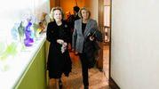 Marisa Monti Riffeser e la marchesa Daniela Marsigli Rossi Lombardi