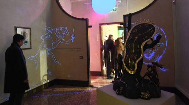 """""""Dalì Experience"""", la mostra a Palazzo Belloni (Foto Schicchi)"""