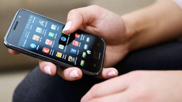 Uno smartphone