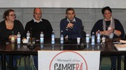 Pizzarotti spiega il motivo del suo netto no al referendum del 4 dicembre (Foto Zani)