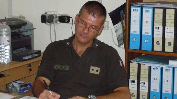 Il capitano Marco Callegaro