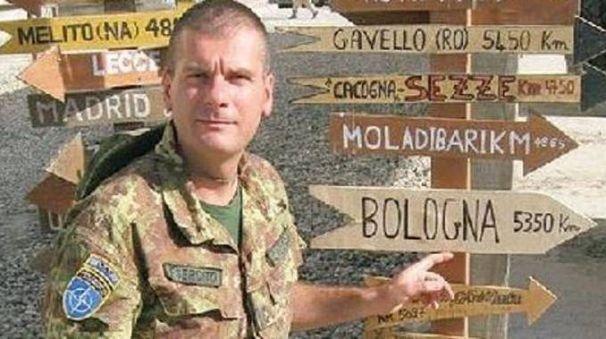 Il capitano Marco Callegaro a Kabul
