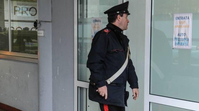I carabinieri  della compagnia di Saronno sono giunti in ospedale