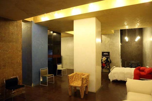 Gli spazi rinnovati all'interno nel temporay store allestito all'interno del negozio 'Dino Gavina' (Fotoschicchi)