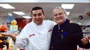 Addio a Don Antonio Polese, il boss delle cerimonie con il boss delle torte Buddy Valastro (Olycom)