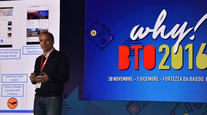 Fabio Galetto, direttore di Google Italia, alla Bto di Firenze