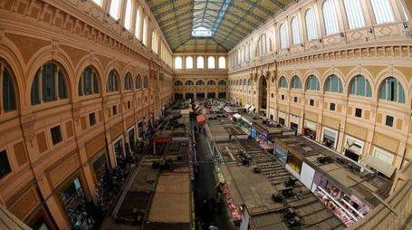 Una panoramica del mercato centrale di Livorno