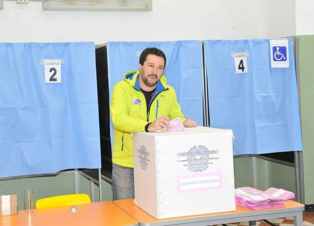 Matteo Salvini (Newpress)