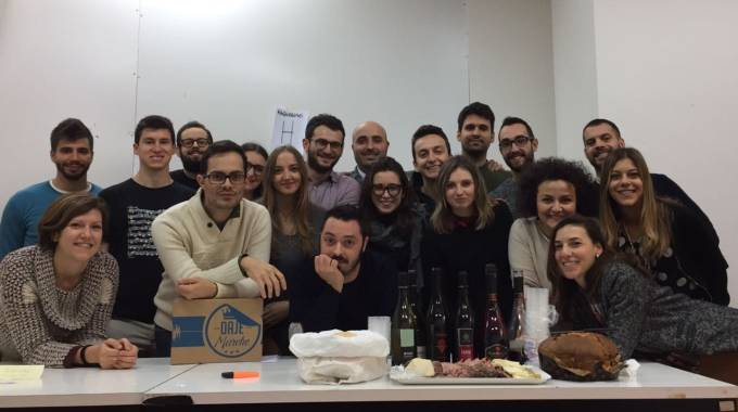 Il team di Daje Marche