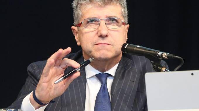 IL PERNO Bruno Bossina è il direttore generale e fa parte del consiglio d'amministrazione che gli ha conferito ampie deleghe