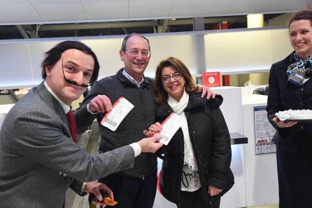 Dalì saluta i passeggeri (Foto Schicchi)