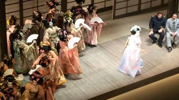 'Madama Butterfly', Prima al Teatro alla Scala