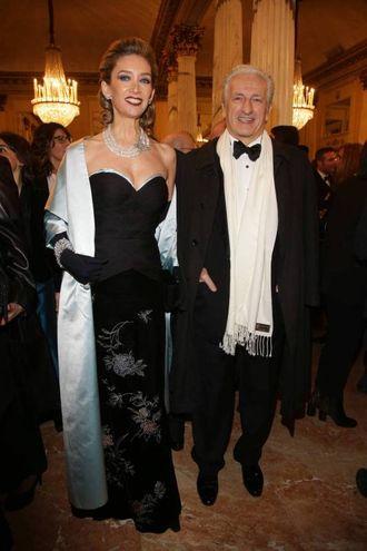 Adriano Teso e la moglie Laura (Olycom)