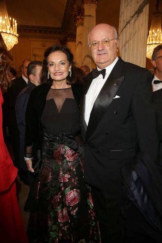 Elio Catania e la moglie (Olycom)