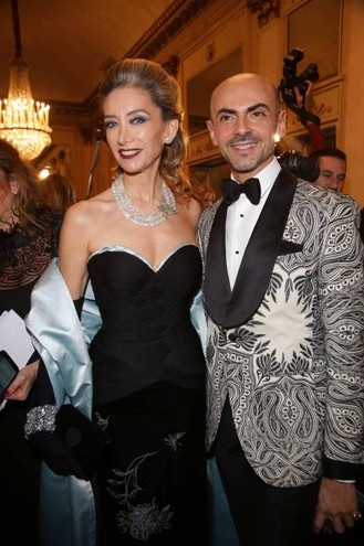 Laura Morino Teso ed Enzo Miccio (Olycom)